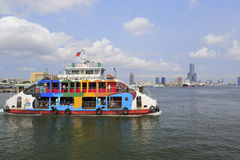 Beautiful ferry Royalty Free Stock Images