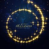 Beautiful festival glitter swirl background for christmas season. Illustration Royalty Free Stock Photography