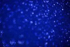 Beautiful festive abstract background. With many snowflakes Stock Photo