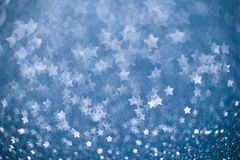 Beautiful festive abstract background. With a lot of fivepointed stars Stock Images