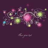 Beautiful festive background. Bright illustration Royalty Free Stock Image