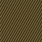 Beautiful festive background for decoration or design. Of Wrapping paper or a gift. Gold stripes on a black background. Vector illustration Stock Photos