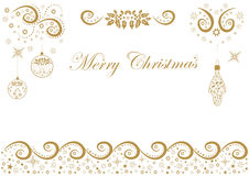 Beautiful festive background with regards to holiday Merry Chris. Tmas.Christmas background with frame for congratulation Royalty Free Stock Photos