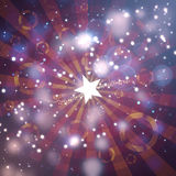 Beautiful festive fantasy. Background with stars Royalty Free Stock Photography