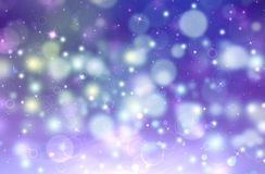 Beautiful festive fantasy. Beautiful blue festive background with stars Royalty Free Stock Photography