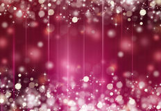 Beautiful festive fantasy. Bokeh background Royalty Free Stock Photography