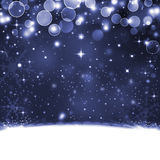 Beautiful festive fantasy. Christmas background Stock Photography
