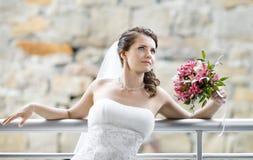 Beautiful fiancee Stock Images