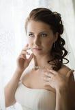 Beautiful fiancee Stock Photos