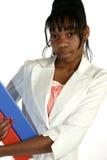 Beautiful Fifteen Year Old Tee. Beautiful African American 15 year old Teen Girl in suit Stock Photography