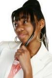 Beautiful Fifteen Year Old Tee. Beautiful African Amercian 15 year old Teen Girl Stock Photography
