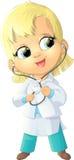 Beautiful figure nurse Royalty Free Stock Images