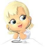 Beautiful figure nurse Royalty Free Stock Photography