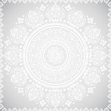 Beautiful filigree Indian floral ornament. Ethnic Mandala. Henna Stock Photos