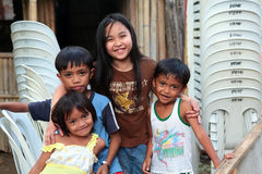 Beautiful Filipino Children Royalty Free Stock Photo