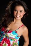 Beautiful Filipino Woman. Beautiful pretty filipino woman smiling Stock Images