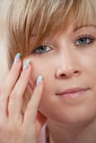 Beautiful fingernails Royalty Free Stock Photos