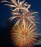Beautiful firework Stock Images