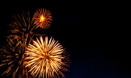 Beautiful firework Royalty Free Stock Images