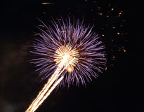Beautiful firework with sky Stock Photos
