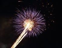 Beautiful firework with sky Stock Photos