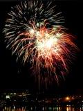 Beautiful Firework. Of Year 2014 Stock Photos