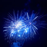 Beautiful fireworks Royalty Free Stock Photos