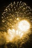 Beautiful Fireworks Royalty Free Stock Photo