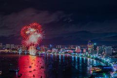 Beautiful fireworks Royalty Free Stock Photography