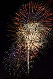 Beautiful Fireworks Display Stock Photography
