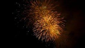 A beautiful fireworks display