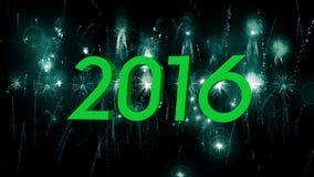 2016_beautiful fireworks explosion stock video