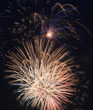 Beautiful fireworks Stock Photos