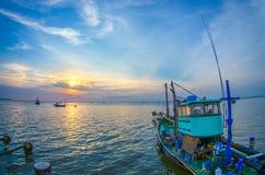 Beautiful fishing boat Stock Photo