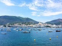 Beautiful fishing village of Cadaques in Spain Royalty Free Stock Photography