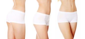 Beautiful fit female body Stock Photo