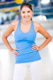 Beautiful fit woman Royalty Free Stock Photography