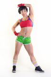 Beautiful fit woman Stock Photography