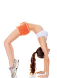 Beautiful fitness girl Stock Photography