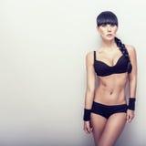 Beautiful  fitness girl Royalty Free Stock Photo