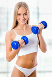 Beautiful fitness girl Royalty Free Stock Image