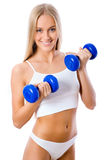 Beautiful fitness girl Royalty Free Stock Photo