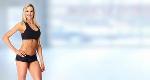 Beautiful fitness girl. Royalty Free Stock Image