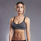 Beautiful fitness trainer girl Stock Image
