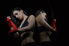 Beautiful fitness woman Royalty Free Stock Photo