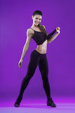 Beautiful fitness woman in sports wear Royalty Free Stock Images
