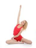 Beautiful fitness woman stretching Stock Photography