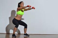 Beautiful fitness woman Royalty Free Stock Photo