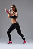 Beautiful fitness woman Royalty Free Stock Photography