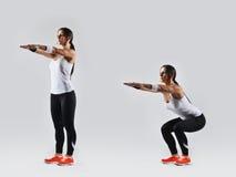 Beautiful fitness woman Royalty Free Stock Photos